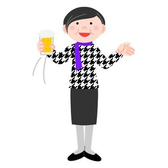 Veteran woman taking the toast of toast, with movement