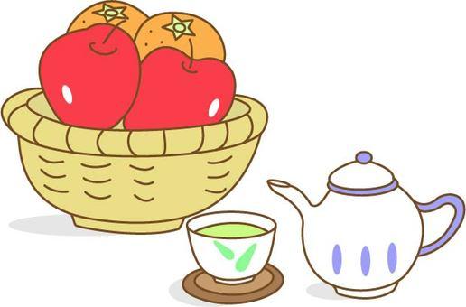 과일과 차