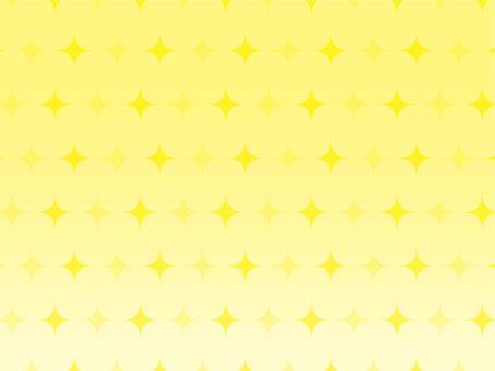 Glittering wallpaper yellow