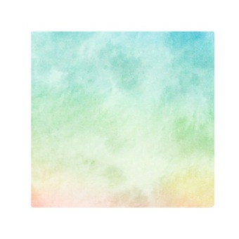 Pastel color material alone square
