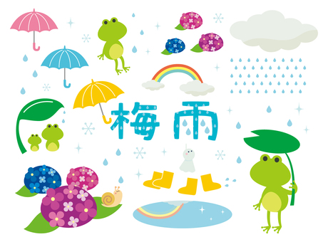 Illustration of the rainy season (3)