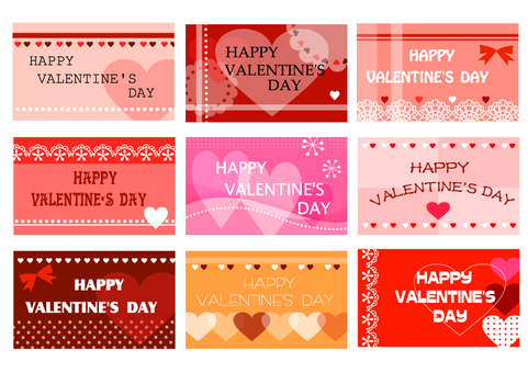 Assortment of Valentine's cards