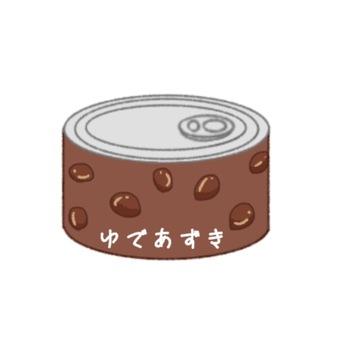Canned separately Yuzu Azuki