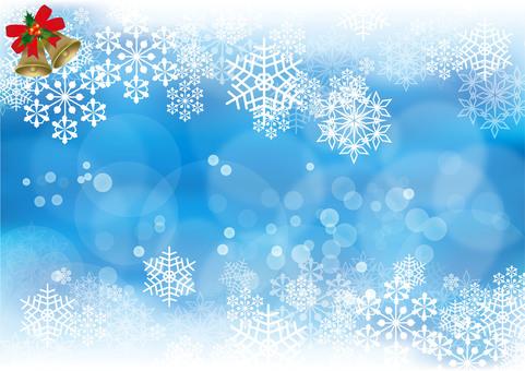 Christmas Snow & Bell 1