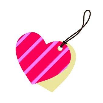 Heart's tag