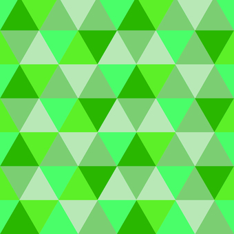 Pattern polygon green