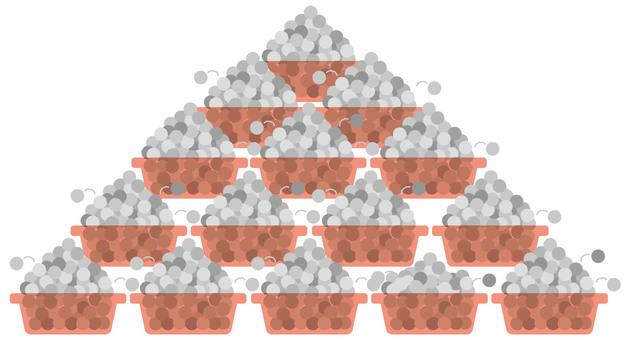 Pachinko / Pachislot Dollar Box Pyramid Product