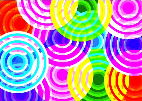 Spinning psychedelic background