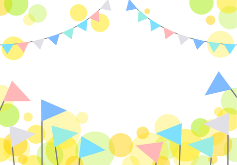 Background Flag Garland