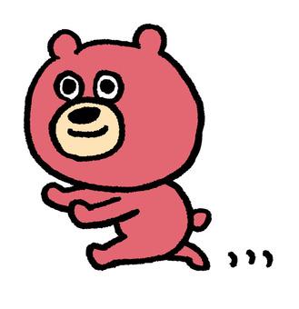 I run a bear