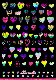 heart icon set4