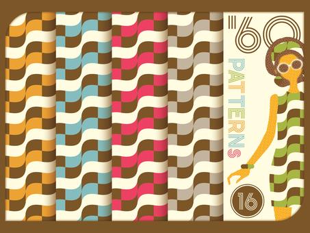 60's style pattern 16