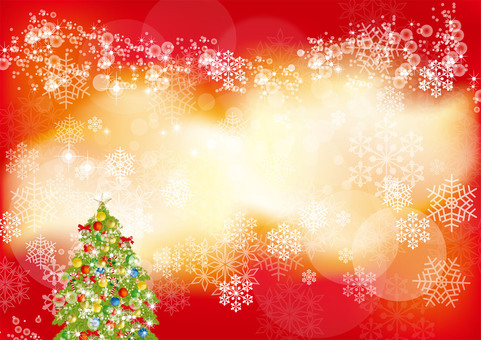 Christmas tree & snow 13