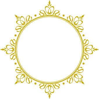 Decorative frame circle