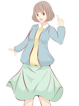 Girl cardigan