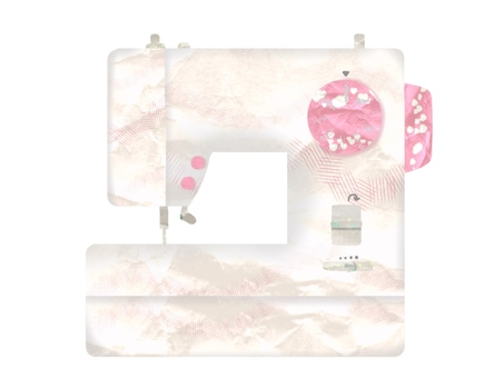 Girly sewing machine