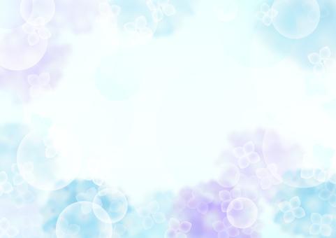 Hydrangea's frame 5