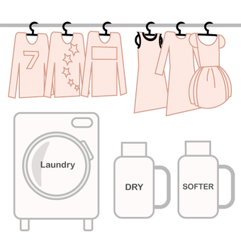 Image to dry clean at home