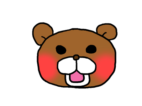 An angry bear