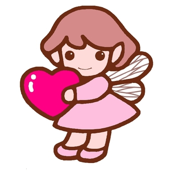 Fairy with heart 2