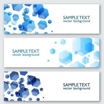 Design template Hexagon