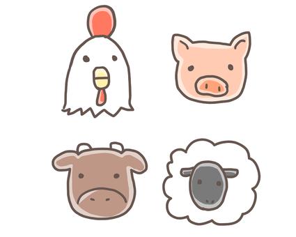 Carnivorous livestock