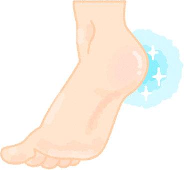 Heel slippery
