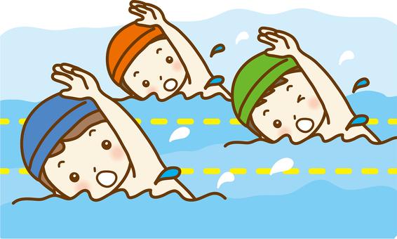 Swimming class 02