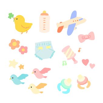 Baby goods icon