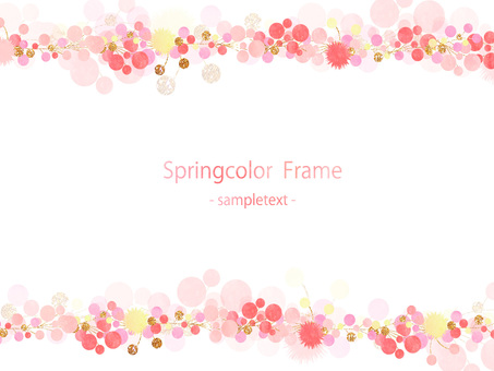 Spring color frame ver 01