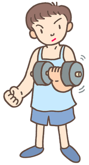 Muscle training. 1
