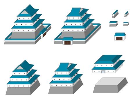 城市系列日本城堡