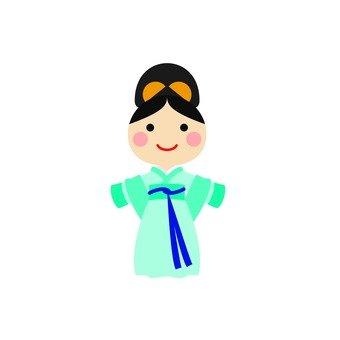 Hanbok women 1