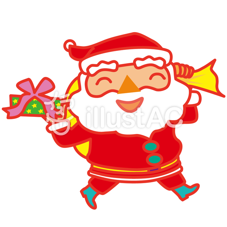Freie Cliparts: Weihnachten Weihnachtsmann Sankt - {ID} | illustAC
