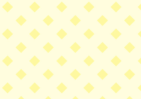 Square square pattern yellow