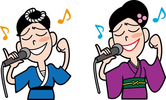歌唱!一個是