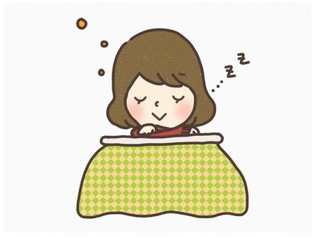 In a kotatsu
