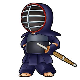 Kendo player