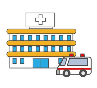 醫院和救護車