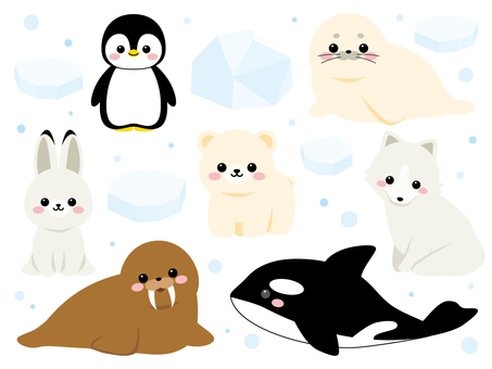 Sea creatures ~ polar version ~