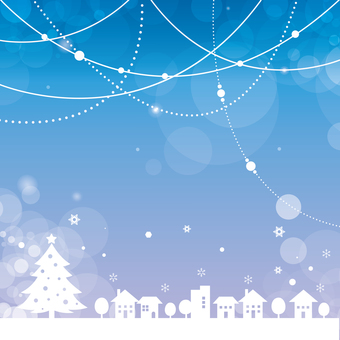 Glittering background Christmas winter