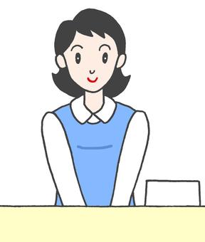 Receptionist. 2