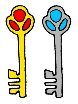金和銀鑰匙