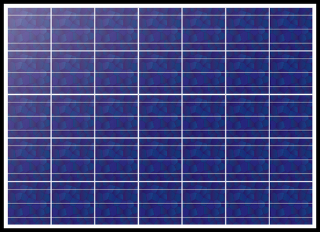 Solar cell swatch