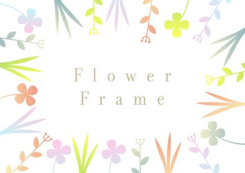 Flower frame 004