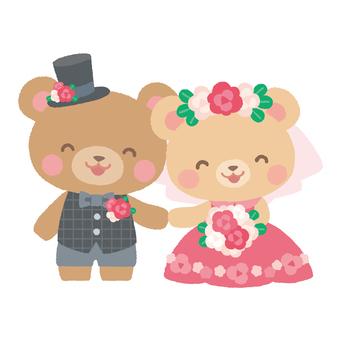 결혼식 곰 2