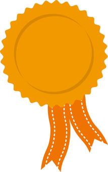 Medal Orange 1