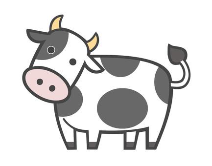 소 (흑백)