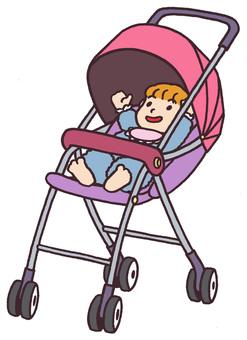 Baby stroller </s> baby