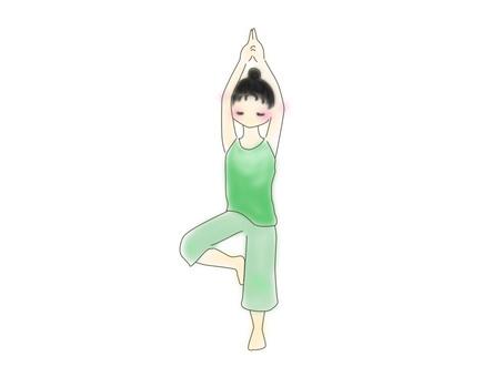 Yoga (Standing Pose)